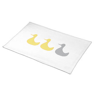 Placemat Duck Duck Gray Duck Cloth Placemat