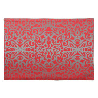 Placemat Floral abstract background Cloth Place Mat