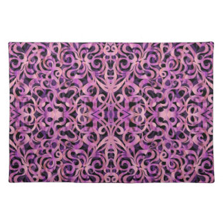 Placemat Floral abstract background Cloth Placemat