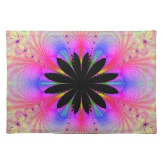 Placemat floral mantel individual