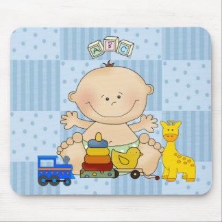 Placemat For Baby Boys, Baby And Toys Mouse Pad