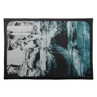 Placemat - fuente del Trevi (translúcida) Mantel
