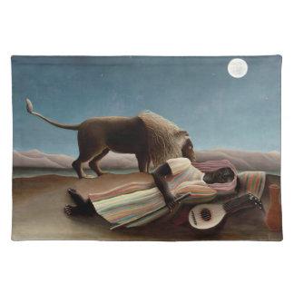 Placemat gitano el dormir de Rousseau Manteles