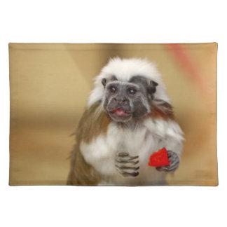 Placemat hermoso superior de la foto del algodón d mantel individual