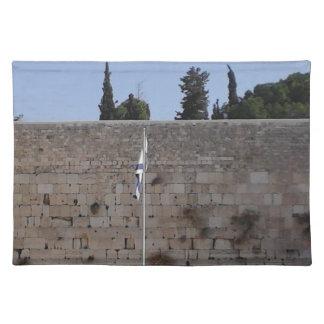 PLACEMAT - Kotel Flag Cloth Place Mat