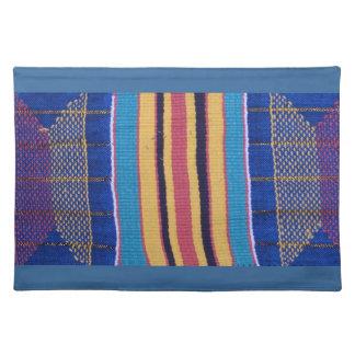 Placemat, materia textil de Africa Occidental Mantel