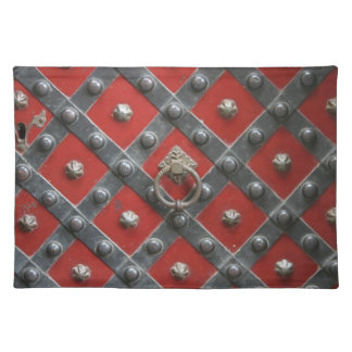 Placemat medieval mantel individual