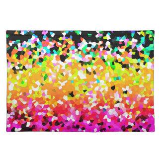Placemat Mosaic Sparkley Texture