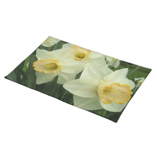 Placemat - narcisos Hearted del oro Manteles Individuales