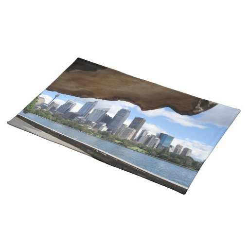 Placemat of Sydney City Centre Skyline