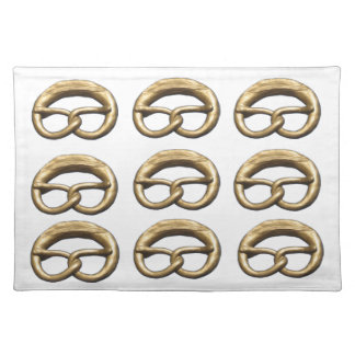 Placemat: Oktoberfest Pretzel Bakery Sign Placemat