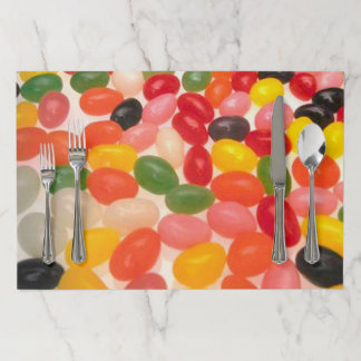 Placemat pad - Colored Jellybeans