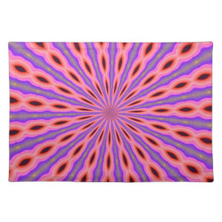 Placemat - Pink Blue Kaleidoscope
