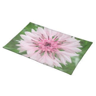 Placemat - Pink/Pink Bachelor's Button Cloth Place Mat
