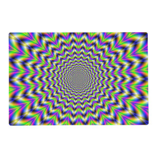 Placemat   Psychedelic Star Laminated Placemat