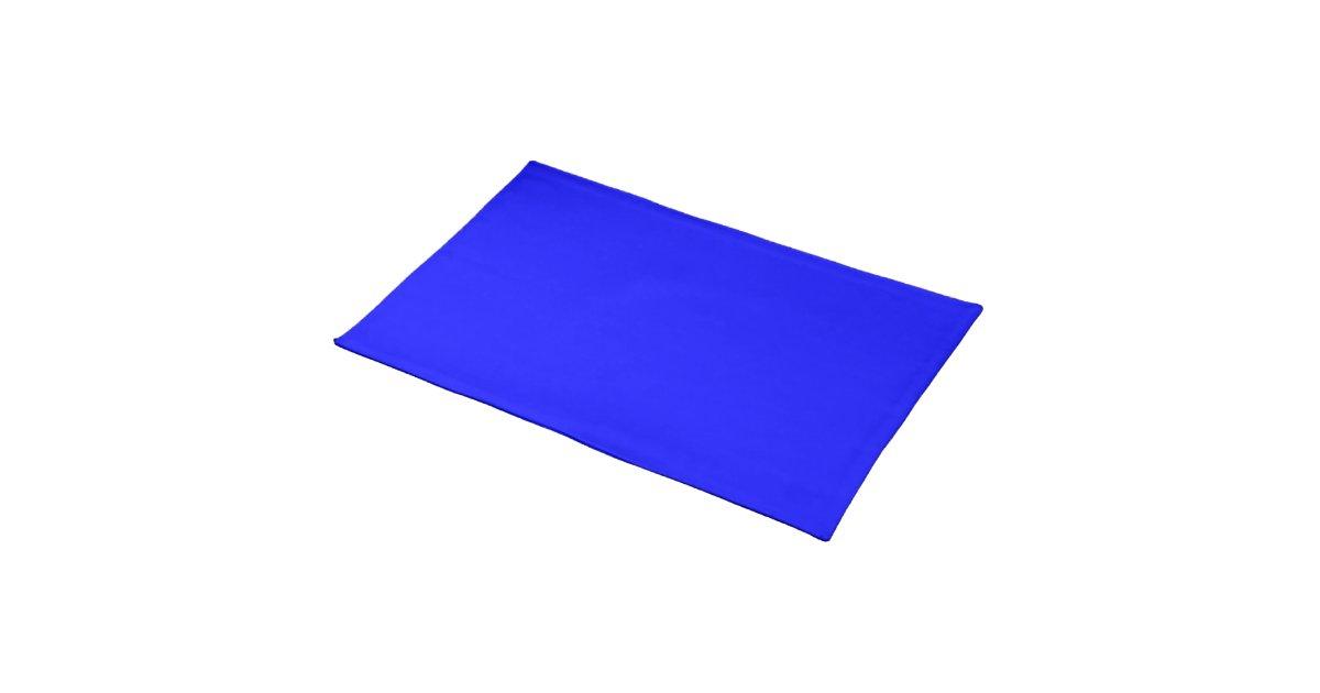 Placemat Royal Blue Cloth Zazzle