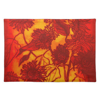 Placemat-Sassy Sunflowers Placemat
