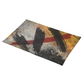 Placemat, The Scar, Abstract Digital Art Cloth Place Mat