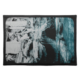 Placemat - Trevi Fountain (translucent) Cloth Place Mat