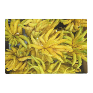 Placemat - tropical fruits