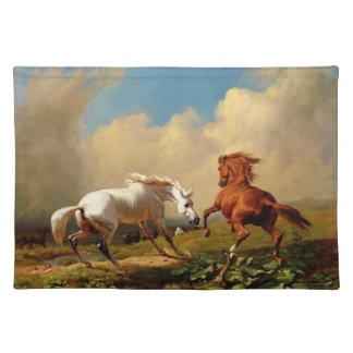 PLACEMAT-Wild Stallions