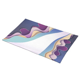 Placemat  with abstract design