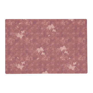 Placemat with Butterflies and Flowers
