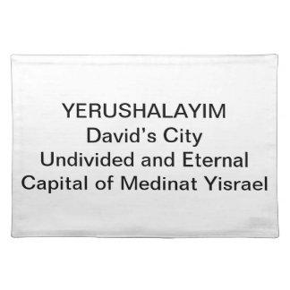 PLACEMAT - Yerushalayim: David's City