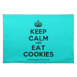 [Crown] keep calm and eat cookies  Placemats