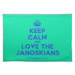 [Crown] keep calm and love the janoskians  Placemats