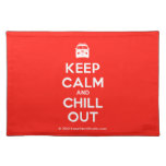 [Campervan] keep calm and chill out  Placemats