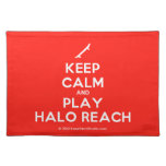 [Skateboard] keep calm and play halo reach  Placemats