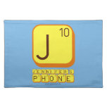 J JENNIFER'S PHONE  Placemats