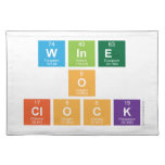 Wine o clock  Placemats