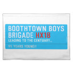 boothtown boys  brigade  Placemats