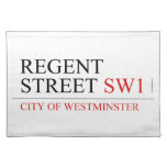 REGENT STREET  Placemats