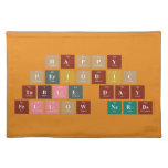 Happy  Periodic  Table Day Fellow Nerds  Placemats