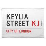 Keylia Street  Placemats