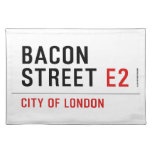 Bacon Street  Placemats