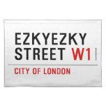 ezkyezky Street  Placemats
