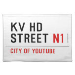 KV HD Street  Placemats