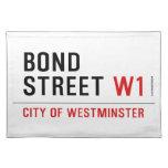 BOND STREET  Placemats