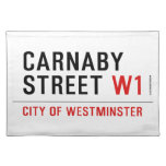 carnaby street  Placemats