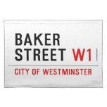 baker street  Placemats