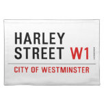 HARLEY STREET  Placemats
