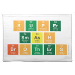 Super Smash Brothers  Placemats
