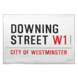 downing street  Placemats