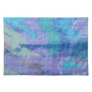 Placemats--Blue Silk