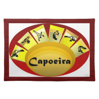 placemats capoeira martial arts bahia axe