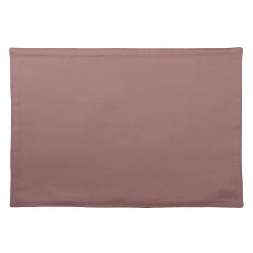 Placemats color de rosa de cobre manteles